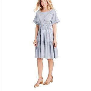 Vineyards Vines Smocked Waist Shirt Dress NWT
